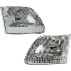 Headlight Lamp Left-and-right For F150 Truck F250 Lh And Rh Fo2503139c Fo2502139c