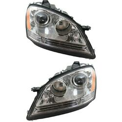 Mb2503146, Mb2502146 Headlight Lamp Left-and-right For Mercedes Ml Class Lh And Rh