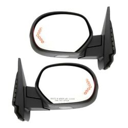 Mirror For 2007-2013 Gmc Sierra 1500 Left And Right Set Of 2