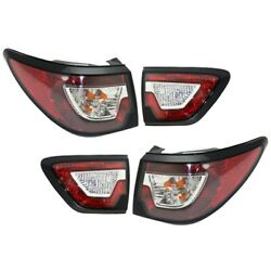 Tail Light Lamp Left-and-right Inside For Chevy Lh And Rh Chevrolet Traverse 13-17
