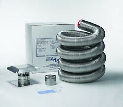 Stainless Steel Flexible Basic Chimney Liner Kits, Available In Various Sizes