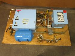 1998 Yr. Thermco 8520ha5pn1100 7010ha10dap1eh Hydrogen And Argon Gas Mixing System
