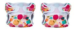 Bummis Swimmi Adjustable Cloth Diapers 2 Pack Bubbles Medium Free Shipping