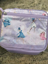 Pottery Barn Kids Mackenzie Cold Pack Lunch Bag Lavender Magical Shimmer Fairies