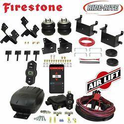 Firestone Riderite Air Bags Airlift Wireless Air Compressor For 15-19 Ford F-150