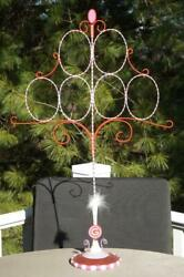 Department 56 Glitterville Christmas Ornament Tree 25 H 16 W Exc