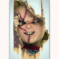 57968 Horror Chucky Childs Play Wall Print Poster Ca