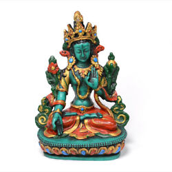 6 Inch Resin Made White Tara Statue Craft from Nepal $33.00