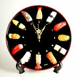 Sushi wall Clock-CL27S stand clock Japan food sample New genuine