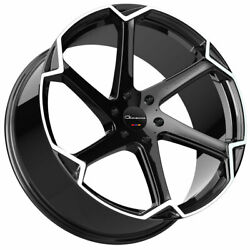 24 Giovanna Dalar-x Machined 24x10 Concave Wheels Rims Fits Ford Expedition