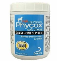 Phycox HA HypoAllergenic canine Joint Support 120 Soft Chews Dog Supplement