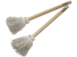 12 Bbq Basting Mops For Roasting Or Grilling, Apply Barbeque Sauce, Marinade Or