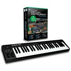 Alesis Q49 49-Key MIDI Keyboard Controller Packages Virtual Instrument Package