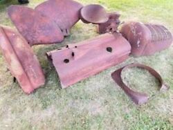 Farmall Md Tractor Fenders And Other Parts