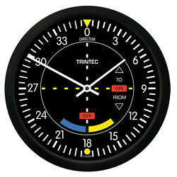 New Trintec 10 Classic Vor Round Clock 9064-10 - A Great Aviation Gift