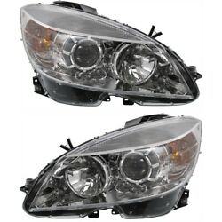 Headlight Lamp Left-and-right For Mercedes C Class C230 Mb2503163c Mb2502163c