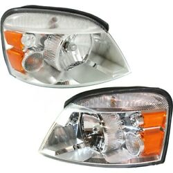 Headlight Lamp Left-and-right Fo2503203 Fo2502203 7f2z13008b 7f2z13008a