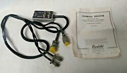 Barfield Fuel Quantity Test Adapter Harness - P/n 101-00452 - Falcon 50
