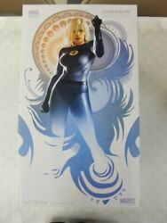 Signed By Stan Lee Sideshow Invisible Woman Figure Statue Mib Fantastic Four