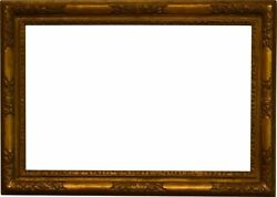 English 18th Century Gold Leaf Lely Picture Frame 22x34 Sku 2030