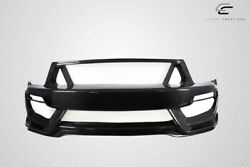 Carbon Creations Gt350 Look Front Bumper 1 Piece For Mustang Ford 05-09 Ed_