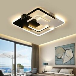 Indoor Ceiling Lights Lamp Metal Iron Led Remote Control Home Interior Accessory