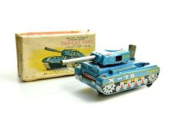 Tin Plate A1 X 75 Mystery Action Target Tank