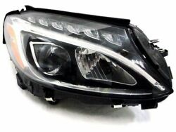 For 2015-2018 Mercedes C300 Headlight Assembly Right Genuine 16646db 2016 2017