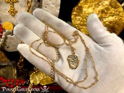 Mexico 1715 Fleet Treasure Necklace Jewelry Pirate Gold Shipwreck Coins Reales