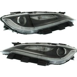 Headlight Lamp Left-and-right Ch2503260c Ch2502260c 68284785aa 68284784aa