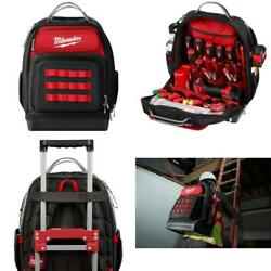 Milwaukee Ultimate Jobsite Backpack Tool Storage Professional Compact Travel New $144.99