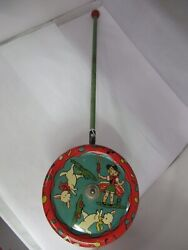 Vintage Gong Mfg. Co. Mary Had A Little Lamb Chime Stick Pull Toy, S-515
