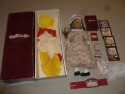 Boxed American Girl Felicity Merriman Doll And Accessories Lot Rare Bonnet