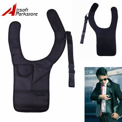 Tactical Anti-Theft Hidden Underarm Shoulder Bag Phone Holster Pouch Right Hand