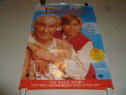 The Adventures Of Pinocchio Movie Poster Double Sided Jonathan Taylor Thomas
