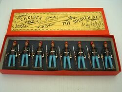 The Chelsea Toy Soldier Co. 90mm Lead Soldiers U.s. Marine Corps 8 Piece Set