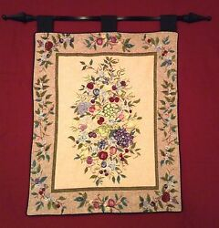 Wall Tapestry Picture Frame Flowers Floral Picture Art Dorm Room