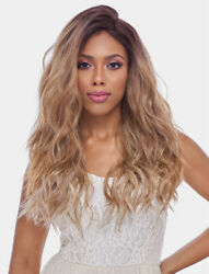 Harlem 125 Synthetic 4x4 Swiss Silk Base Lace Front Wig - Fls11