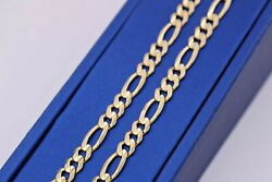 14k Yellow Gold Figarucci Link Chain 31.5gm 22 S105509