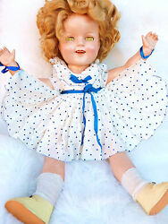 Shirley Temple Doll Ideal 1930 Jointed Shirley Temple Original Clothes