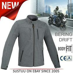 Bering Carver Menand039s Motorcycle/bike Textile Waterproof Jackets│ce Approved│grey