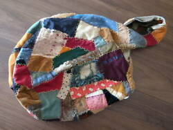 J.AUGUR DESIGN Handmade Bag 2009 aw QUILT HOBO US Made Rare Vintage Y78