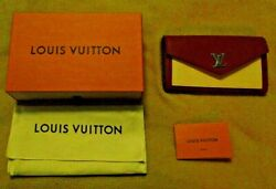 Authentic Louis Vuitton Clutch Wallet W/ Gift Box And Dust Bag 7.5 X 4.5 X 1.25