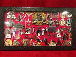 Star Wars Collectors Pin Set Disney Remember The Force Opened But New