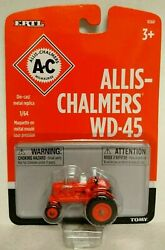 Ertl 1/64 Scale Allis Chalmers Wd45 Tractor Model Ships World Wide