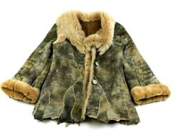 Free Varsova Womens Jacket Real Fur Buttons Lined L