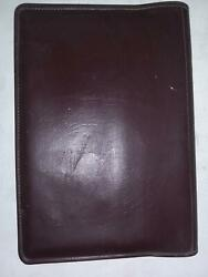 1993 Volvo 960 Owners Operators Manual Book Red Leather Bookcover