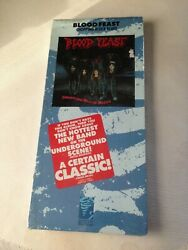 Blood Feast - Chopping Block Blues Longbox Cd Oop 1989 Restless/colossal Sealed
