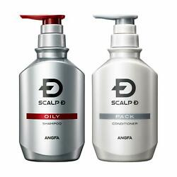 Angfa Scalp D For Men Oily Skin Shampoo And Conditioner 350ml Styling