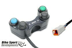Ducati V2 Race Switch Set Left Side 4 Function Right Side 2 Function.